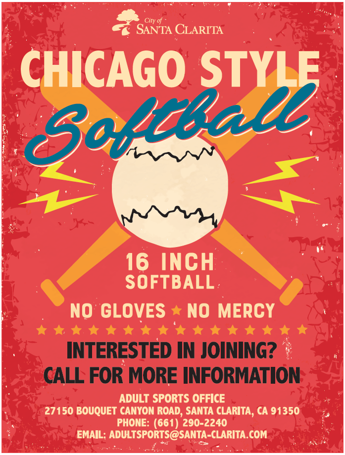 Chicago Softball flyer
