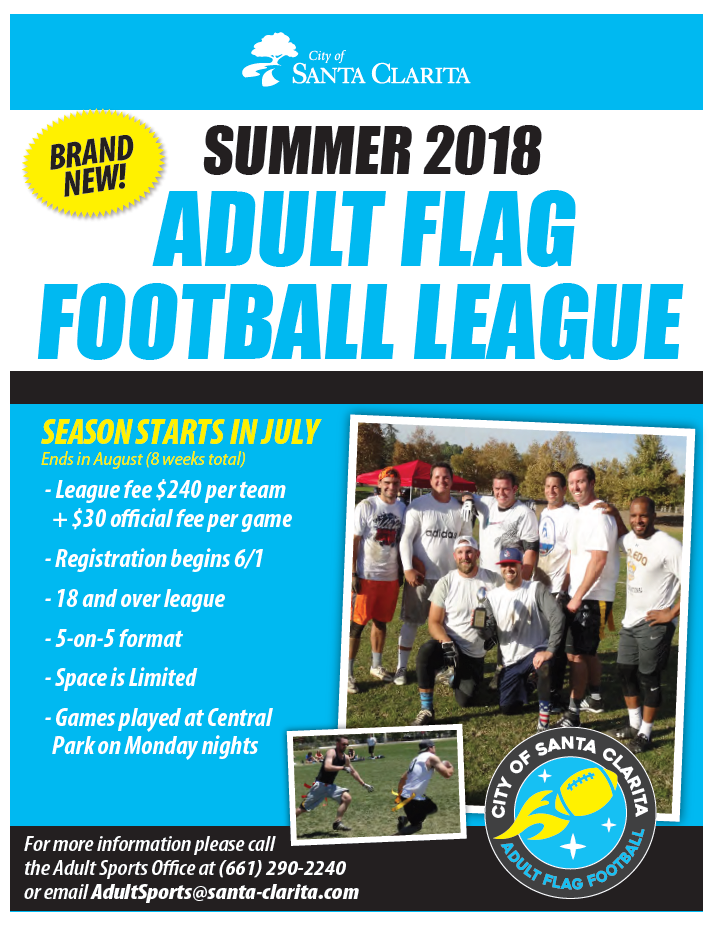 Flag Football Flyer 2018