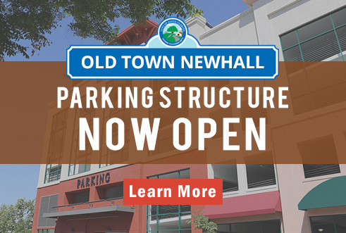 Parking Structure Now Open
