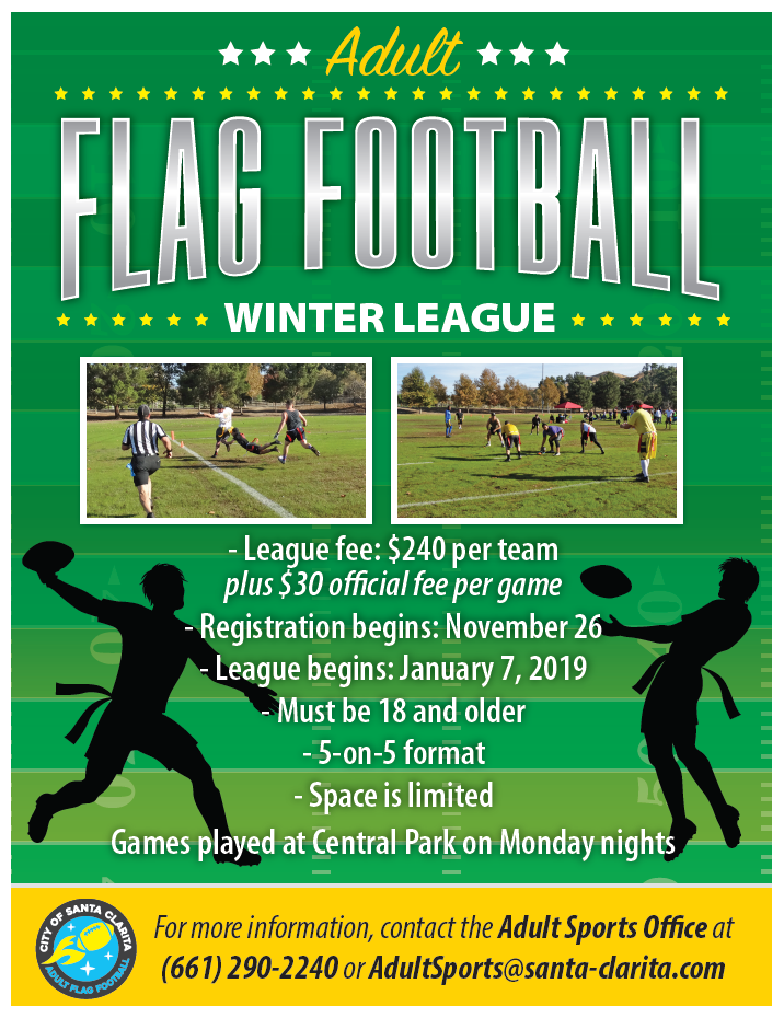 Flag Football Flyer 2019