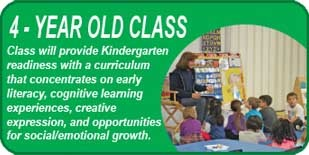 4-Year Old Classes