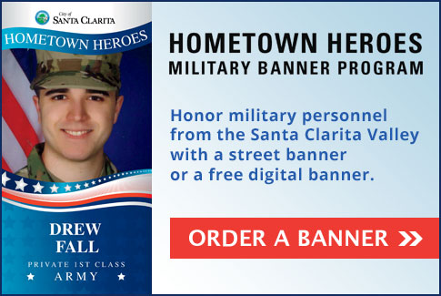 Hometown Heroes Military Banner Program