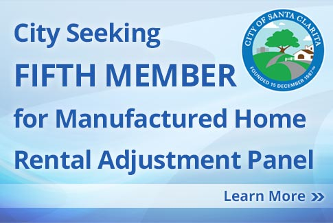 City Seeking Fifth Member for Manufactured Home Rental Adjustment Panel
