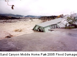 Sand Canyon Flood
