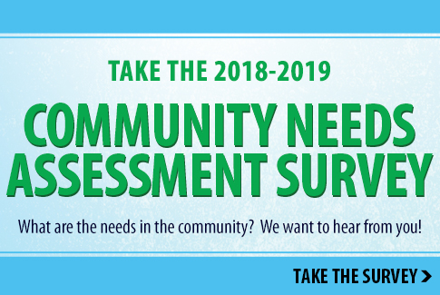 Take the Community Needs Assessment Survey