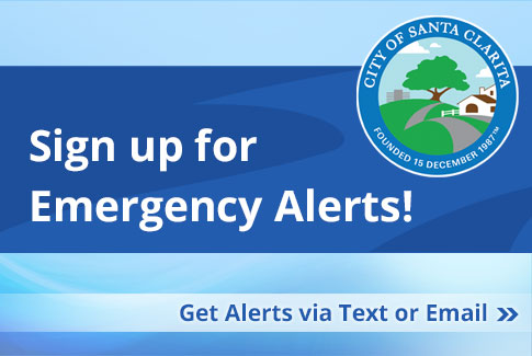 Sign up for Emergency Alerts! Get alerts via text or email.