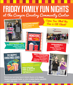 2017 Fall Family Fun Nights