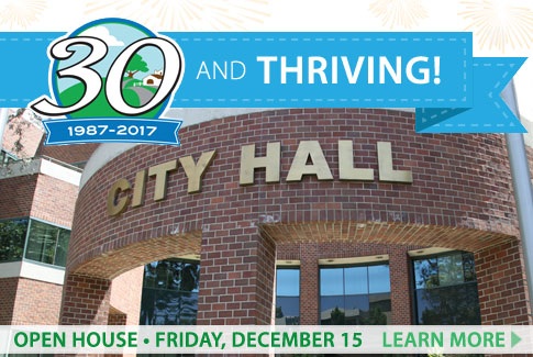 Open House - Friday, December 15.  Learn More!