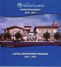 City of Santa Clarita 2010-2011 FY Budget