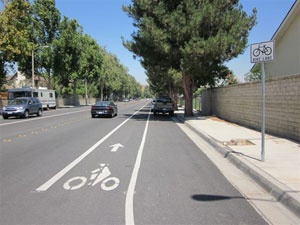 Example Bike Lane