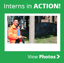 Interns in ACTION!  View Photos