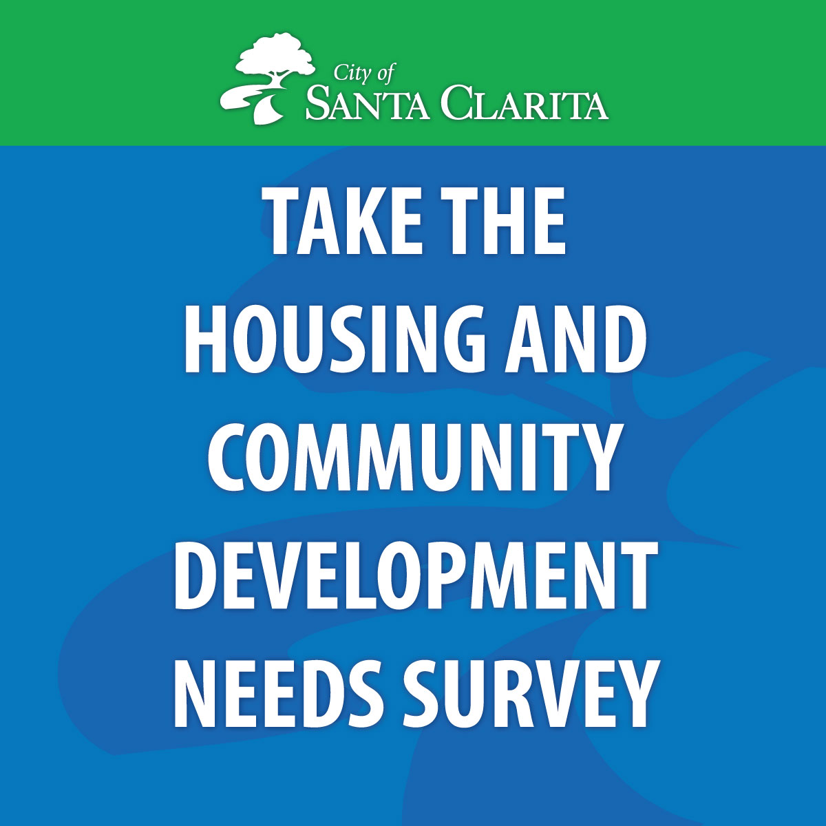 Take the housing and community development needs survey