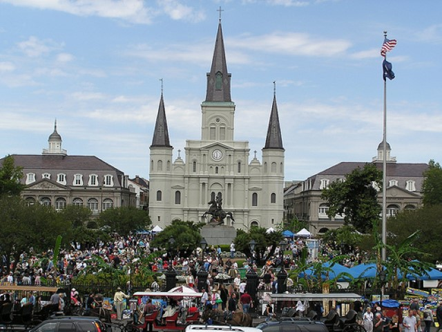 New Orleans - Jackson Square, New Orleans (Small)