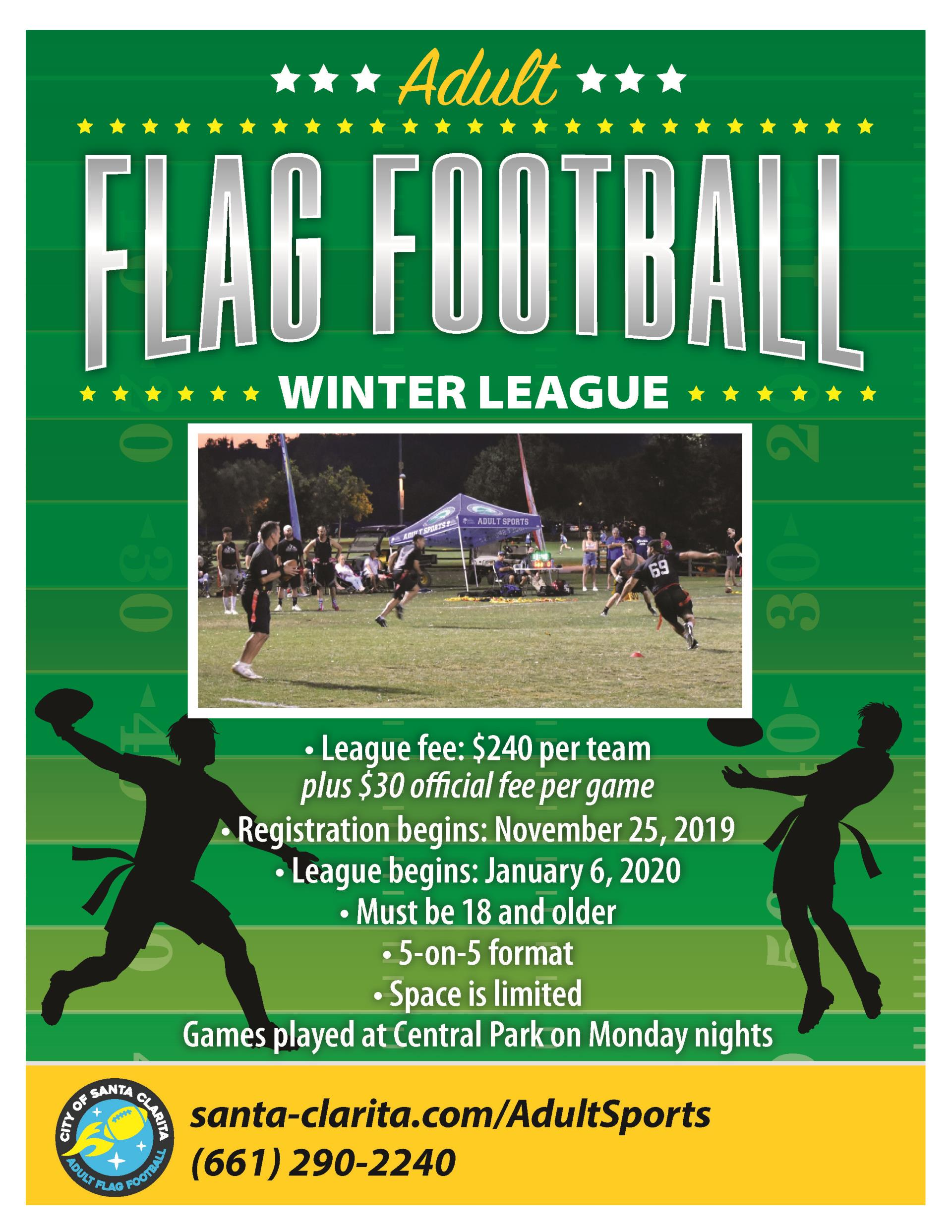 Flag Football Flyer 2020