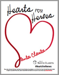 Hearts for Heroes Template PDF