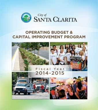 Fiscal Year 2014-2015 Operating Budget and Capital Improvement Program