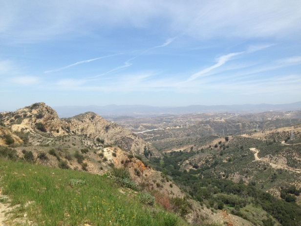 Open Space Trails Newhall Pass