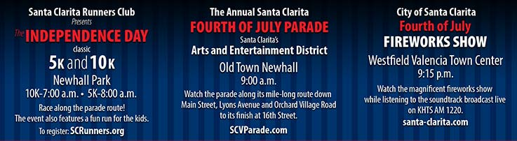 Santa Clarita Fourth of July Events